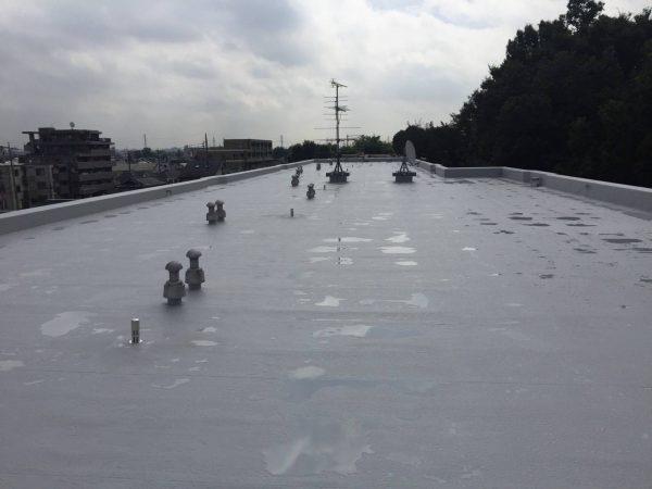 防水工事・株式会社APEX・塩ビシート防水機械的固定工法