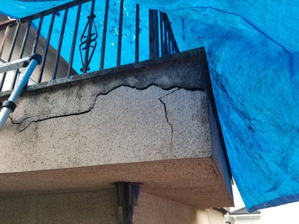 防水工事・株式会社APEX・壁の補修