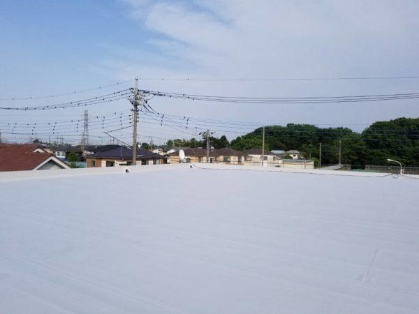 防水工事・株式会社APEX・埼玉県・川越市・塩ビシート防水機械的固定工法