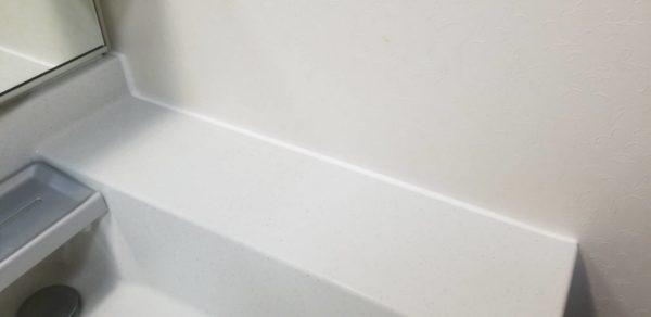 防水工事・株式会社APEX・埼玉県・川越市・隙間シール・化粧台・浴室