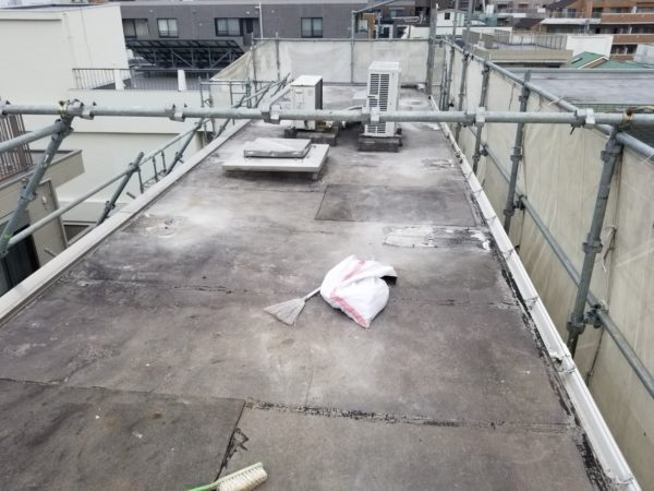 防水工事・株式会社APEX・東京都・豊島区・屋上防水改修・塩ビシート防水機械的固定工法